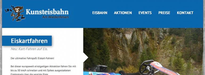 Relaunch Kunsteisbahn am Wiedenfelsen