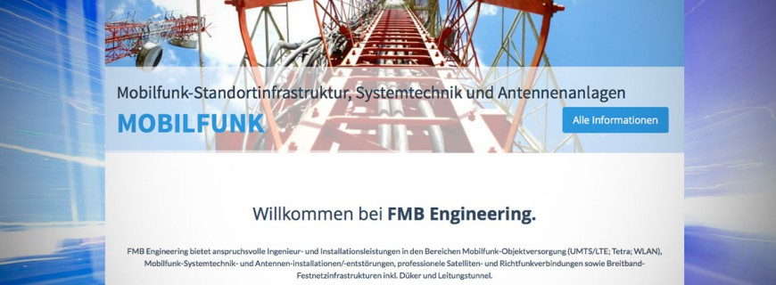 Launch Website FMB Engineering