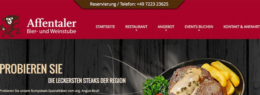 Relaunch Affentaler Bier- und Weinstube