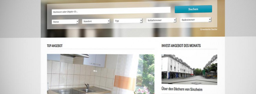 Launch der Website für Fortino Immobilien