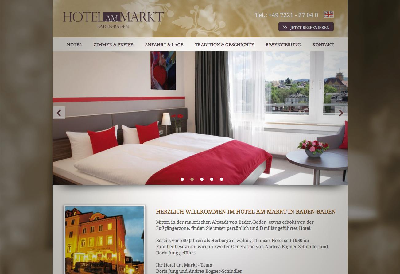 Hotel Am Markt E Site Com