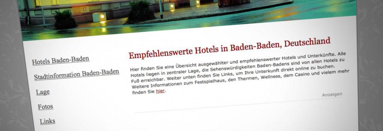 Hotels Baden-Baden