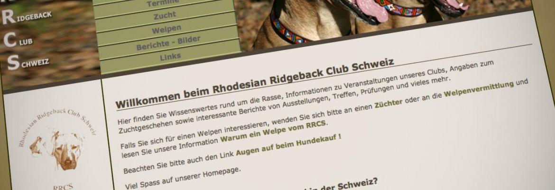 Rhodesian Ridgeback Club Schweiz