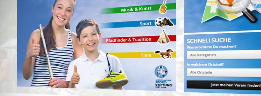 Neue Website für Der große Vereinsführer Baden-Baden