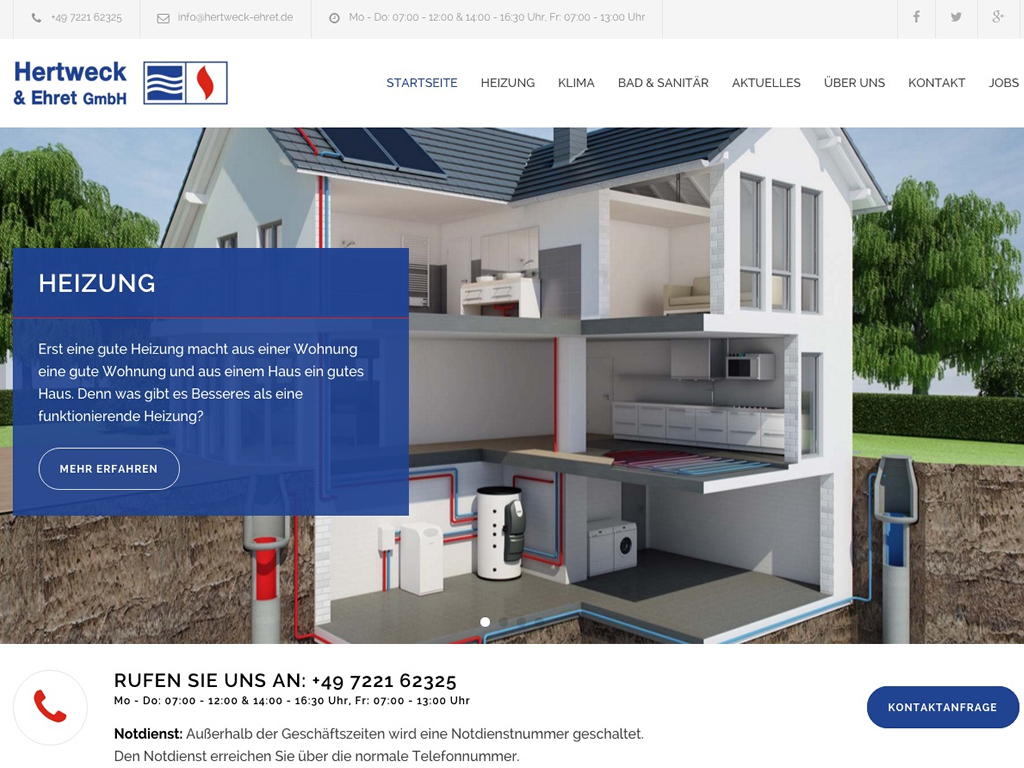 Hertweck & Ehret GmbH - E-SITE.com