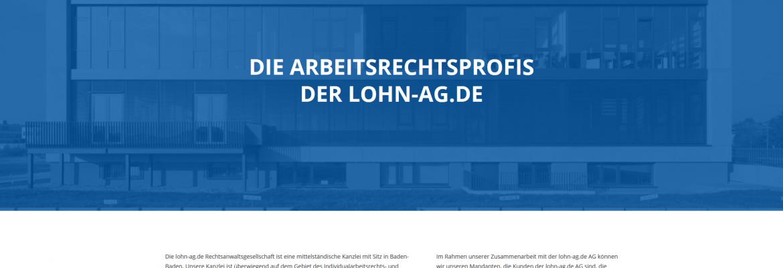 lohn-ag.de Rechtsanwaltsgesellschaft mbH