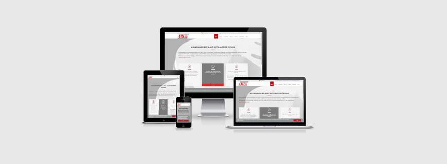 Relaunch der Website A.M.T – Fachkompetenz im Automotive-Sektor seit 1984
