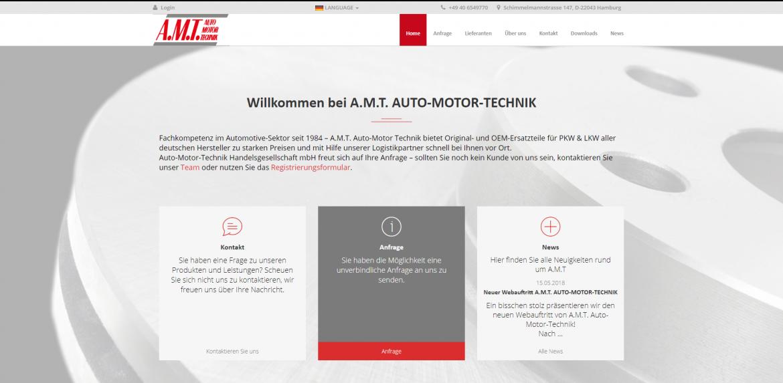 A.M.T. Auto-Motor-Technik Handelsgesellschaft mbH - E-SITE.com