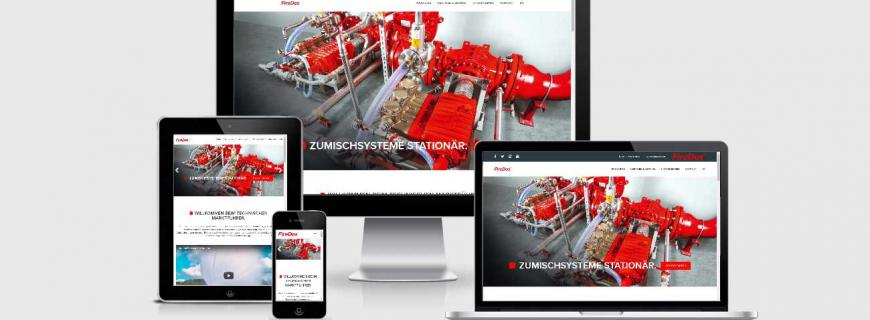 Relaunch für die <strong><em>FireDos</em></strong> GmbH